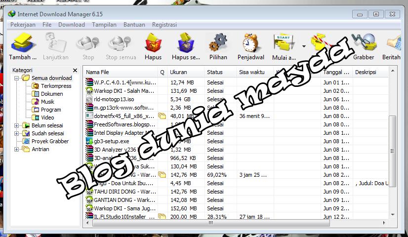 numero de serie falso para internet download manager